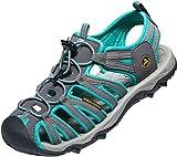 AT-W109-DG_260 Women 9 B(M) Atika Women's Athena Outdoor Sandals W109