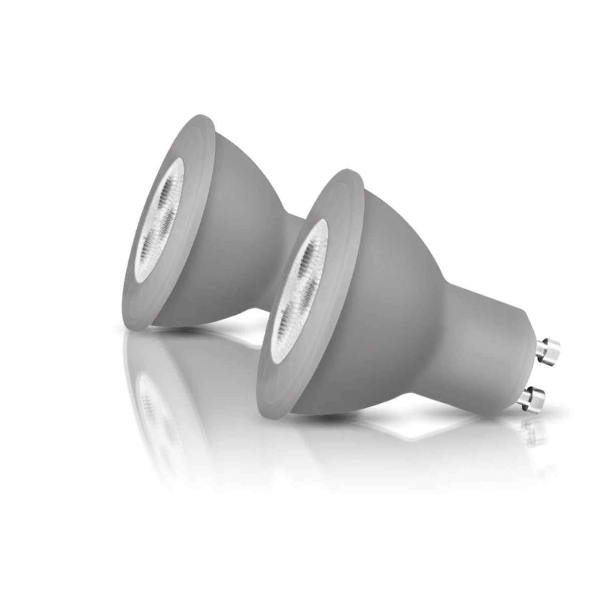 OSRAM LED-Reflektorlampe GU10 Retrofit PAR16 / 4W - 35 Watt-Ersatz, LED-Spot / matt, warmweiß - 2700K, Blister 2er Pack Ledvance 4052899947573