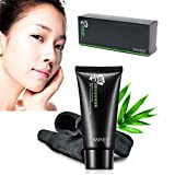 #3: Blackhead Mask LuckyFine Bamboo Charcoal Mud Nose Blackhead Anti Acne Pore Remover Cleansing Peel Off Removal Mask 50g