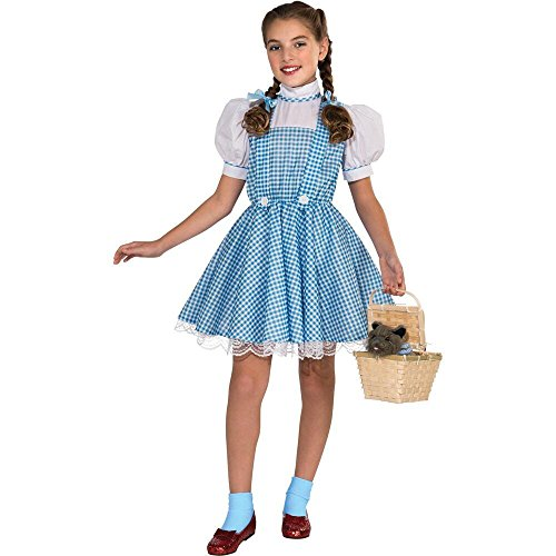 Warner Bros. Youth The Wizard of Oz Dorothy Deluxe Child Costume Large (Child Deluxe Dorothy Ruby Slippers)