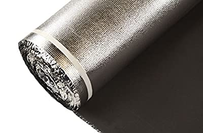 IncStores Black EVA Foam Underlayment - Ideal for Floating Wood & Laminate Flooring