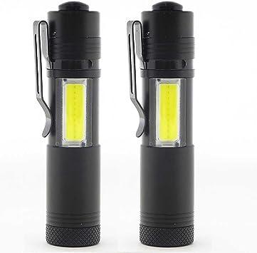 USB Taschenlampe Fackel Super Bright Tragbar LED Aufladbar Stift Camping Wandern