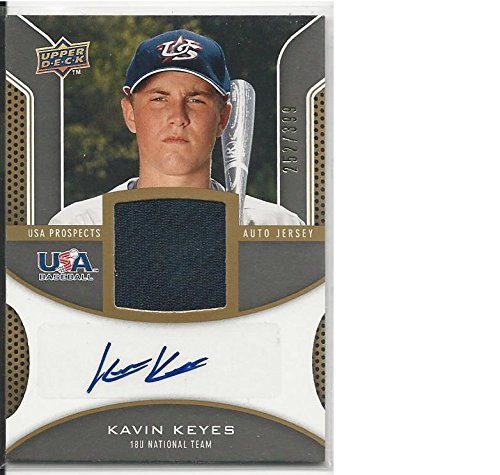 Baseball MLB 2009 Upper Deck Signature Stars #USA-KK Kavin Keyes #USA-KK NM Near Mint RC Rookie MEM