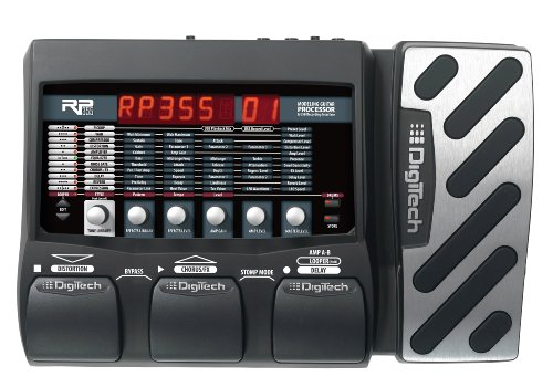 - DigiTech RP355 Modeling Guitar Processor and USB Recording Interface
