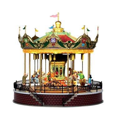Amazon.de: Lemax - Sunshine Carousel - Animiertes & Beleuchtetes ...