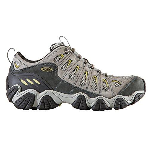 Oboz Scarponcini da Camminata ed Escursionismo Uomo Marrone Pewter