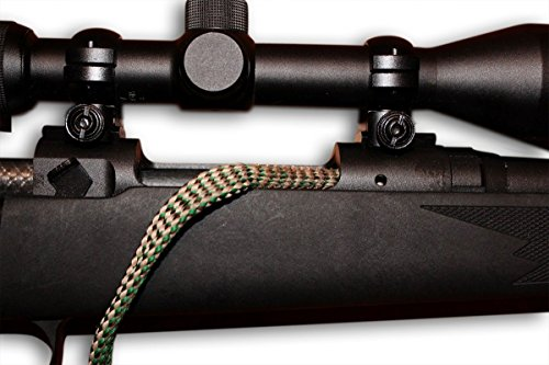 Cobra 308 Caliber Barrel Cleaning Snake - Easily Cleans Your Barrel In One Smooth Pull - From Bore Snakes - Free Storage Pouch