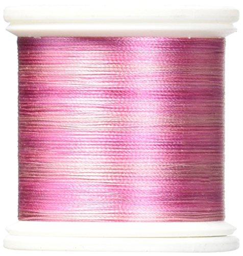 (YLI 202V2-07V Silk Variegated Thread, 200m, Rubies)