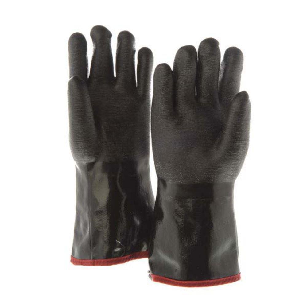 The Fryer Glove Black Neoprene Fryer Gloves - 14