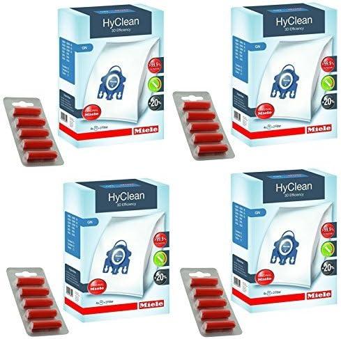 Bolsas de recambio para aspiradoras Miele GN - TT5000 S5210 S5211 S5261 de perro y gato Original para Hyclean + filtros (+ 4 caja de ambientadores para aspiradoras): Amazon.es: Hogar