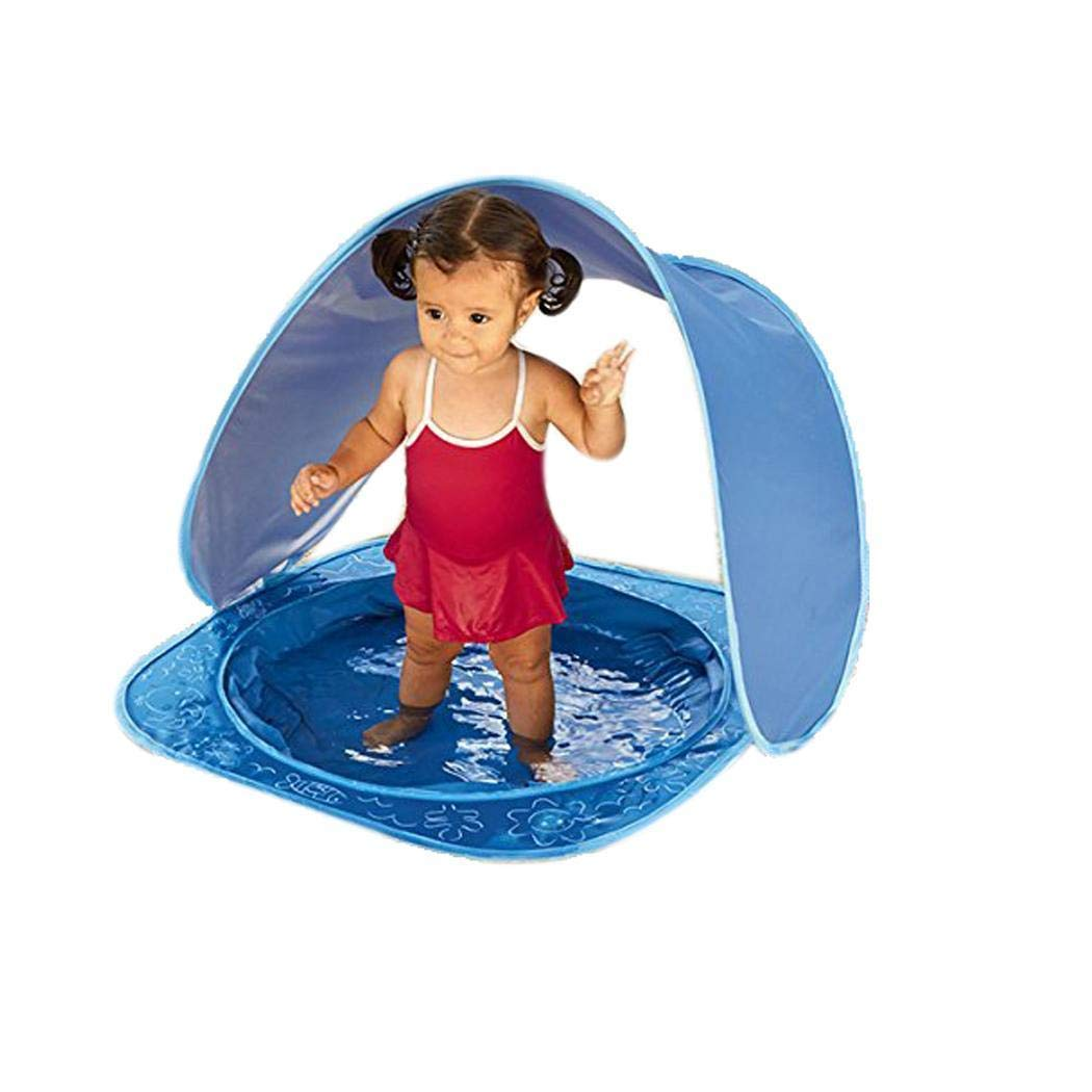 TEXXIS Foldable Baby Beach Pool Tent with Uv-Protecting Sunshelter Toys Kids Gifts Play Tunnels