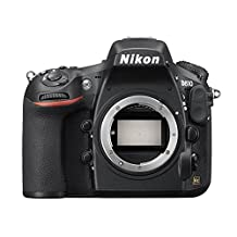 Nikon D810 FX-Series Digital Body SLR 36.3MP SLR Camera with 3.2-Inch TFT LCD- Camera Body Only - Black