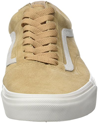 Vans Damen Old Skool Sneakers Braun (Pig Suede)