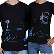 BoldLoft Couple Shirts Key To My Heart His and Hers Matching Couple Shirts