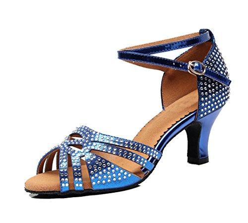 Jazz MGM Blue EU Joymod 6cm Blu Heel 35 Donna e Moderno a7R7q5