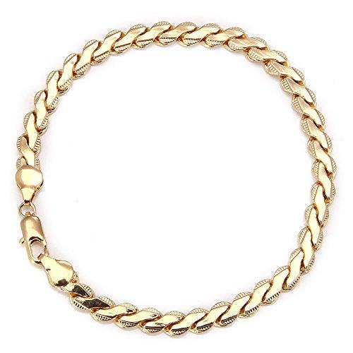 Followmoon 18k Gold Plated Men's Bracelet