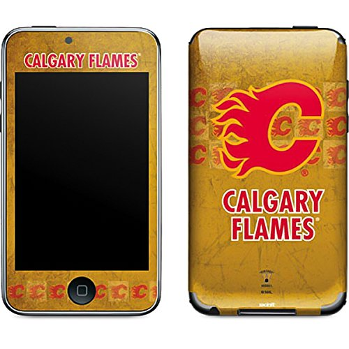 (NHL Calgary Flames iPod Touch (2nd & 3rd Gen) Skin - Calgary Flames Vintage Vinyl Decal Skin For Your iPod Touch (2nd & 3rd Gen))