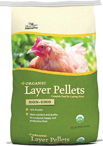 Manna Pro Organic Layer Pellets, 30 lb