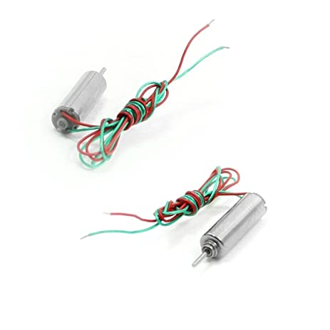 Amazon.com: uxcell 2PCS DC 3V 8000RPM/Min Double Wires Motor for ...