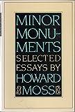 Minor Monuments 9780880011044