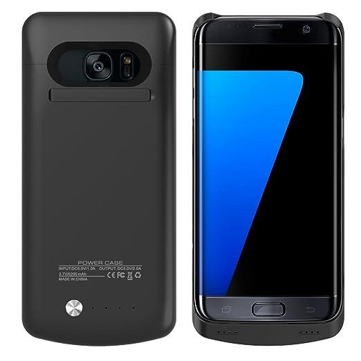 6 opinioni per Galaxy S7Edge Custodia caricabatterie, Rasse® rechargerable 5200mAh Batteria