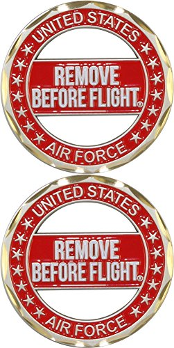 U.S. Air Force Remove Before Flight Cut-Out Challenge Coin (Challenge Coin Air Force)