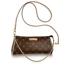 Authentic Louis Vuitton Monogram Canvas Eva Cluth Handbag Article: M95567 Made in France