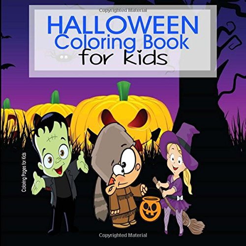 Halloween Coloring Book for Kids -