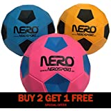 INGEAR Nero NS-R12 High Bounce Ball for Playground Kids Teens and Adults Bundle Pack Great for Gifts Parties Toys Wholesale Bulk Pack (3packmix)