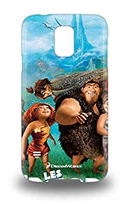 Hot Tpye Dream Works The Croods 3D PC Case Cover For Galaxy S5 ( Custom Picture iPhone 6, iPhone 6 PLUS, iPhone 5, iPhone 5S, iPhone 5C, iPhone 4, iPhone 4S,Galaxy S6,Galaxy S5,Galaxy S4,Galaxy S3,Note 3,iPad Mini-Mini 2,iPad Air )