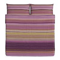 Ikea Palmlilja Duvet Cover and Pillowcases, King, Purple