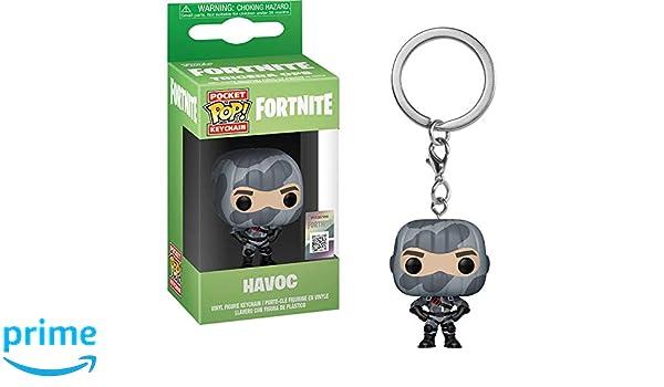 Amazon.com: Funko Havoc: Fortnite x Pocket POP! Mini-Figural ...