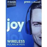 Preo My Sound MS15 Mavi Kulak Üstü Kablosuz Kulaklık