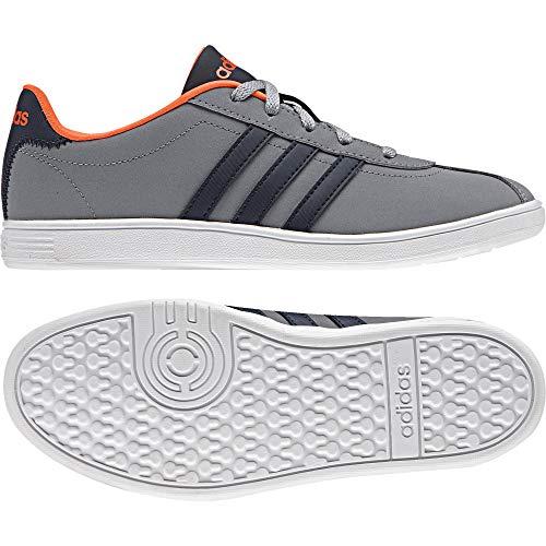 maruni narsol gris K Eu 38 Adidas Unisex Vlcourt Niños Zapatillas xwfv6nYFqp