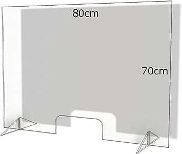 Thekenaufsatz Spritzschutz Spuckschutz Niesschutz **Variable Größe**