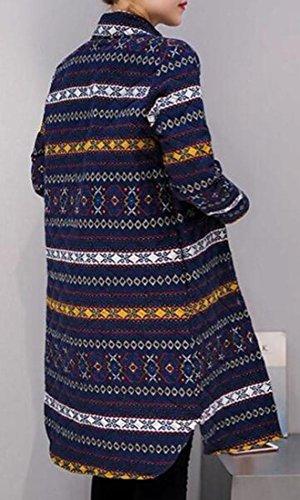 Womens 1 Lightweight Thin TTYLLMAO Stand Padded Cotton Winter Collar Long Jacket OfUW4wq6Wp
