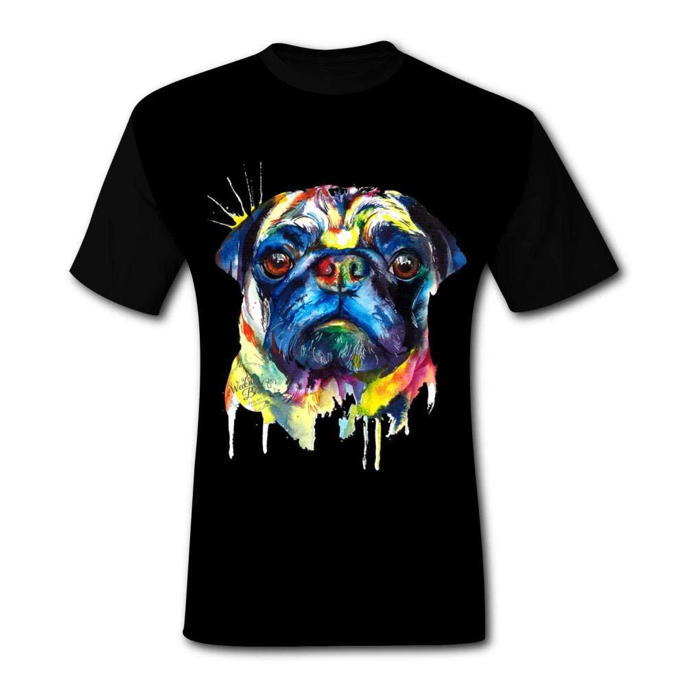 Mens Shirts Bull Dog Casual Men T-Shirt Short Sleeve Boys Tank Tops Tees