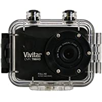 Vivitar Full 1080p HD action cam with Remote control and 2 LCD Screen - Color and Styles May Vary (Discontinued by Manufacturer)