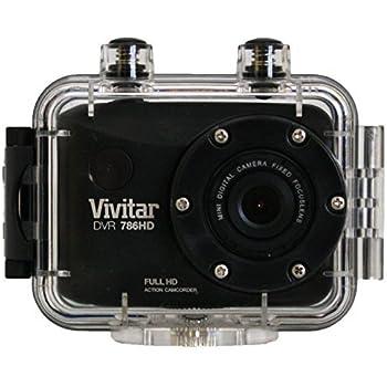 Amazon.com : Vivitar Full HD Action Camera, DVR786HD-BLK : Camera ...
