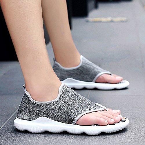 Sandali Traspirante Moda Auspiciousi Black Uomo Casual Casual Uomo Sandali 8101 Appartamenti Sneakers Estate Scarpe qIqZ0
