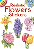 img - for Realistic Flowers Stickers (Dover Little Activity Books Stickers) book / textbook / text book
