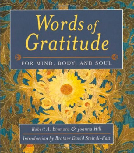 Words of Gratitude for Mind, Body, and Soul