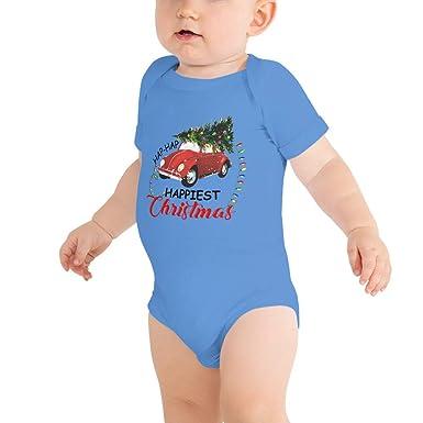 7384128af Amazon.com: Hap Hap Happiest Christmas Clark Griswold Baby Bodysuits Baby  Onesies for Kids: payatek: Clothing