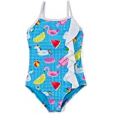Girls' One Piece Swimsuit Infants Ruffle-Accent Bathing Suit for Infant & Toddler Girls