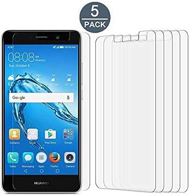 Huawei Ascend XT2 Screen Protector Film, [5 Pack] Tonvizern High Defintion  Ultra Clear Screen Protector for Huawei Ascend XT2 H1711 / Elate 4G [Not