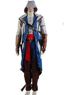 MSSJ Creed Ezio Auditore Cosplay Set de Disfraces Hombres Adultos ...