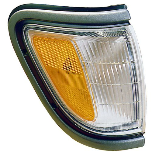 (1995-1996-1997 Toyota Tacoma Pickup Truck (4WD 4 Wheel Drive) Corner Park Light Turn Signal Marker Lamp with Black Trim Right Passenger Side (95 96 97))