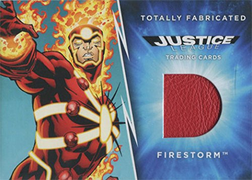 DC Comics Justice League Totally Fabricated Firestorm Costume Card TF-13]()