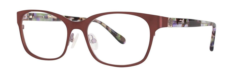 LILLY PULITZER Eyeglasses WRIGHT Chocolate 50MM