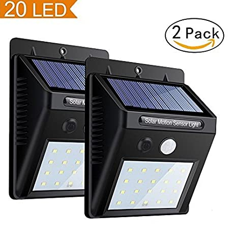 solar motion light, super bright sensor garden night lights, 20 ledsolar motion light, super bright sensor garden night lights, 20 led waterproof security wall